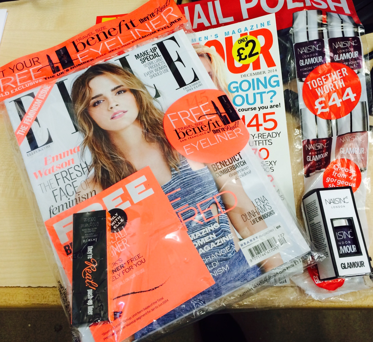 December Magazine Freebies